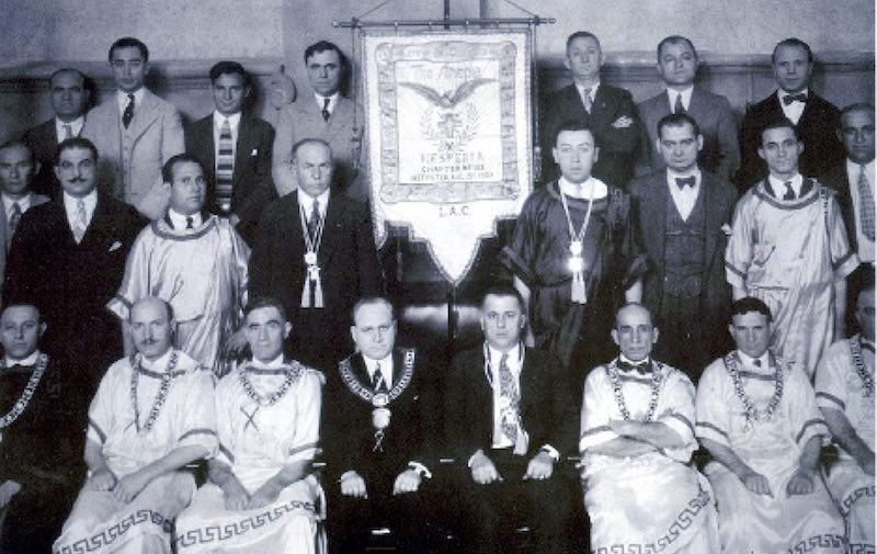 AHEPA 1927 - First Initiation of the Hesperia Chapter #152 Los Angeles, California