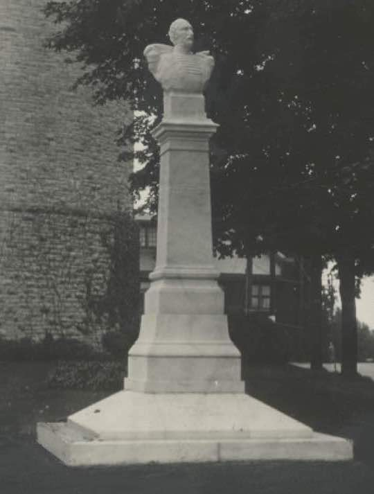 Order of AHEPA erected a Statue of Demetrius Ypsilanti in Ypsilanti, Michigan on August 29, 1928