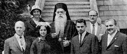 1962 - Ahepa Family national presidents visit His Holiness Patriarch Athenagoras at Constantinople