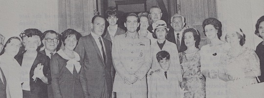 1965 - Ahepa delegation visits King Constantine of Greece during the Ahepa convention in Athens.