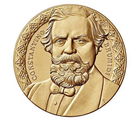 Congressional Gold Medal for Constantino Brumidi