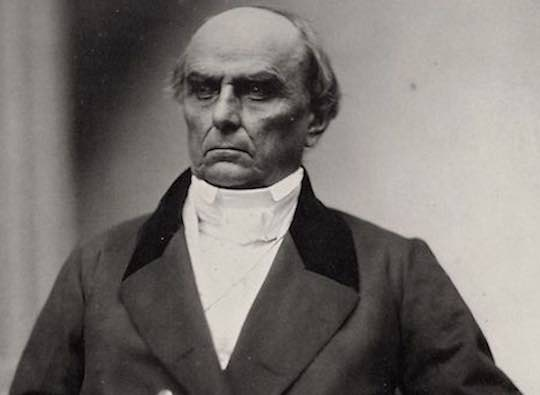 United States Representative Daniel Webster of Massachusetts