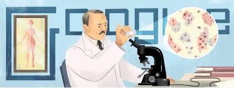 Ahepan Dr. George Nicholas Papanikolaou - Google Doodle