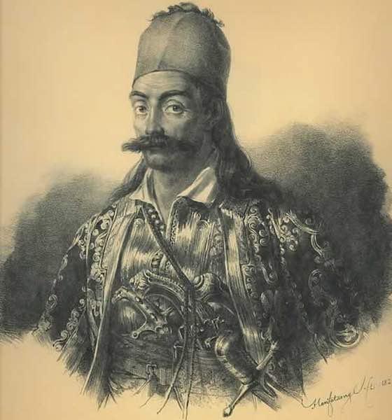 Georgios Karaiskakis (Γεώργιος Καραΐσκος) 1780 - April 23, 1827