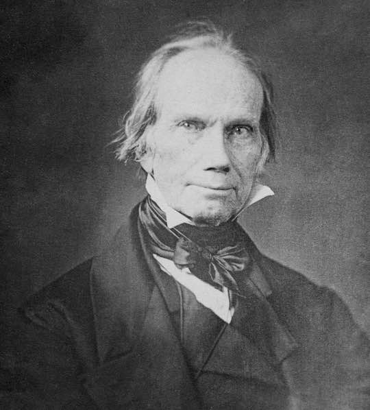 Henry Clay who spoke eloquently for the Greek cause in the United States Congress