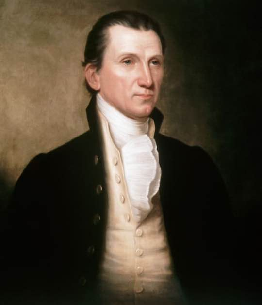 President of the United States James Monroe