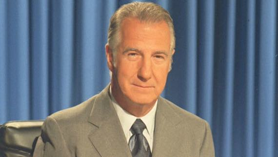 SPIRO T. AGNEW Vice President of the United States Member of Baltimore, Marylan Ahepa Chapter #30. Elected Vice President at the 1968 elections; the highest office attained by an American of Greek descent